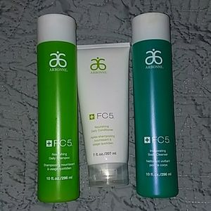 Arbonne Shampoo, Conditioner, and body wash set